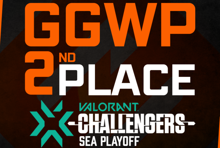 2ND in VCT 2021: SEA Stage 2 Challengers Finals Tournament !